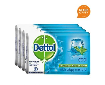 Dettol Cool Soap - Pack of 4