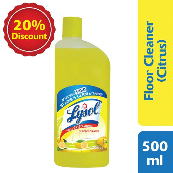 Lizol Disinfectant Floor Cleaner Citrus